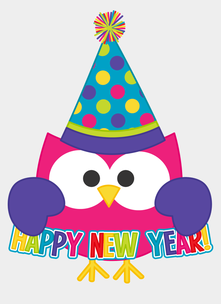 happy new year clip art, Cartoons - Jpg Black And White Download For January - Happy New Year Clip Art Free
