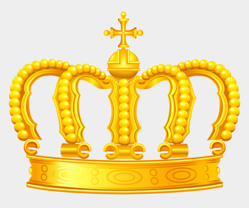 queen crown clip art, Cartoons - Purple Clipart Gold Crown - Gold Crown Png