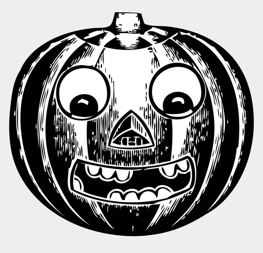 jack o lantern clipart black and white, Cartoons - Jack O Lantern Clip Art