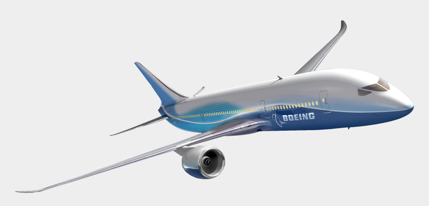 airplane clipart no background, Cartoons - Boeing Png Photo - Airplane With No Background