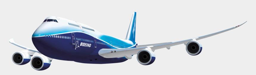 airplane clipart no background, Cartoons - Blue Plane - Boeing Airplane Transparent Background