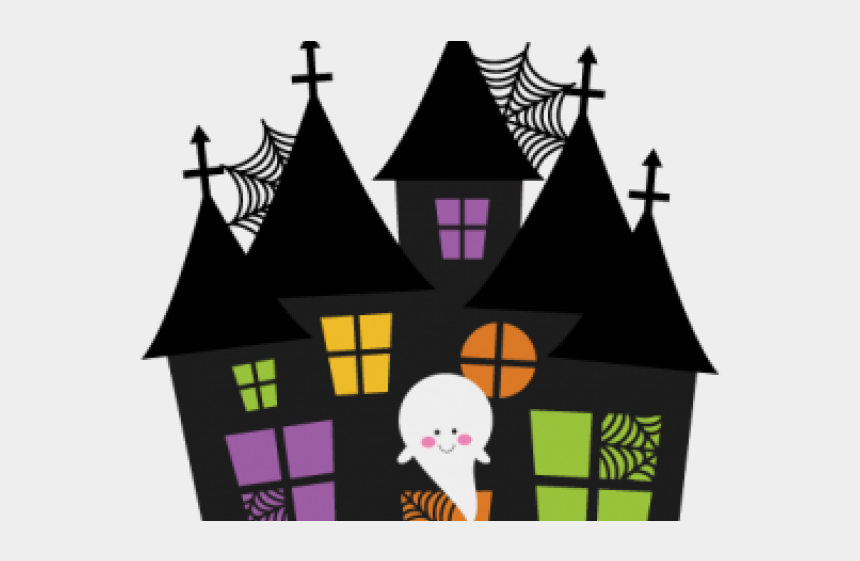 mansion clipart, Cartoons - Halloween Haunted House Clipart