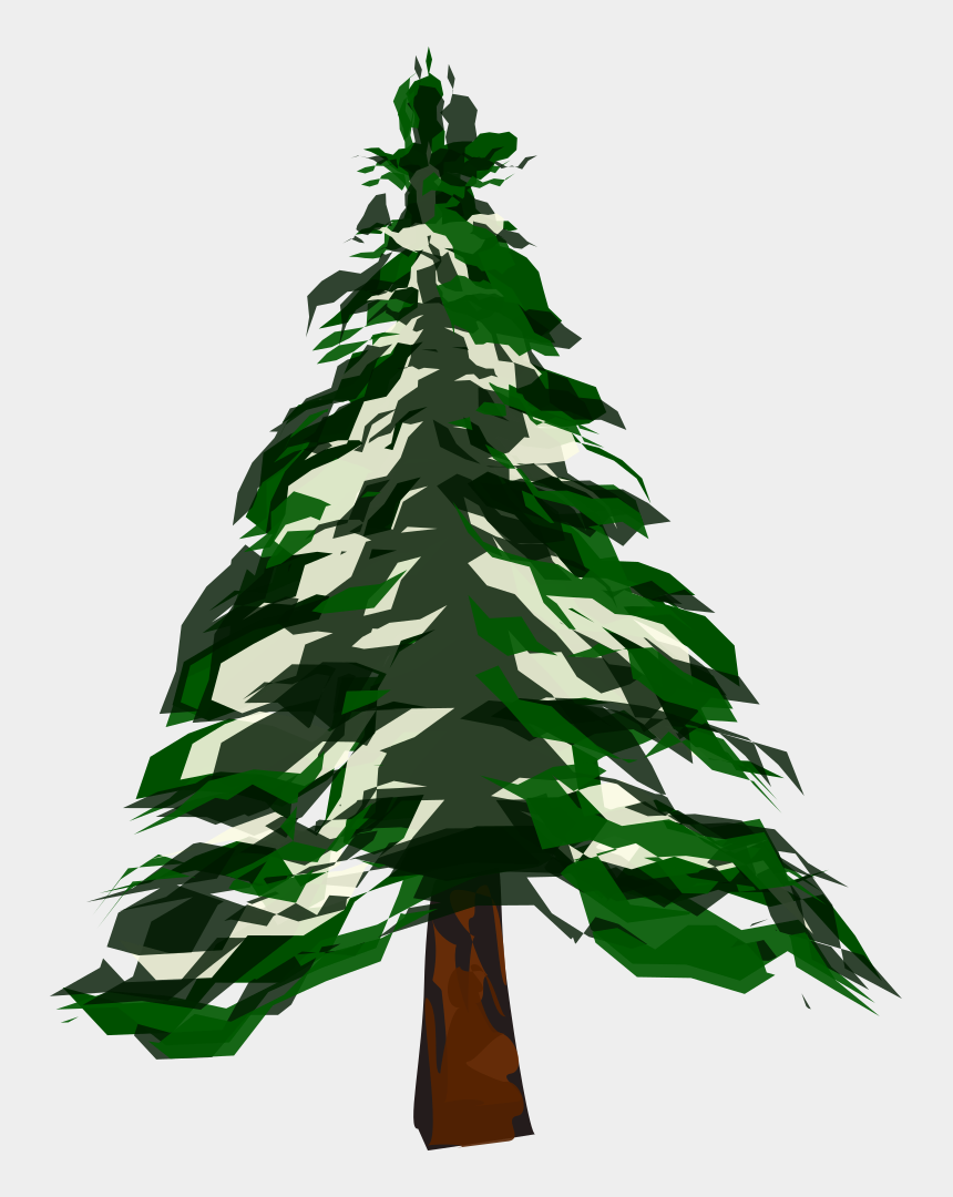 trees clip art, Cartoons - Banner Download Pine Trees With Snow Clipart - Winter Pine Tree Clipart