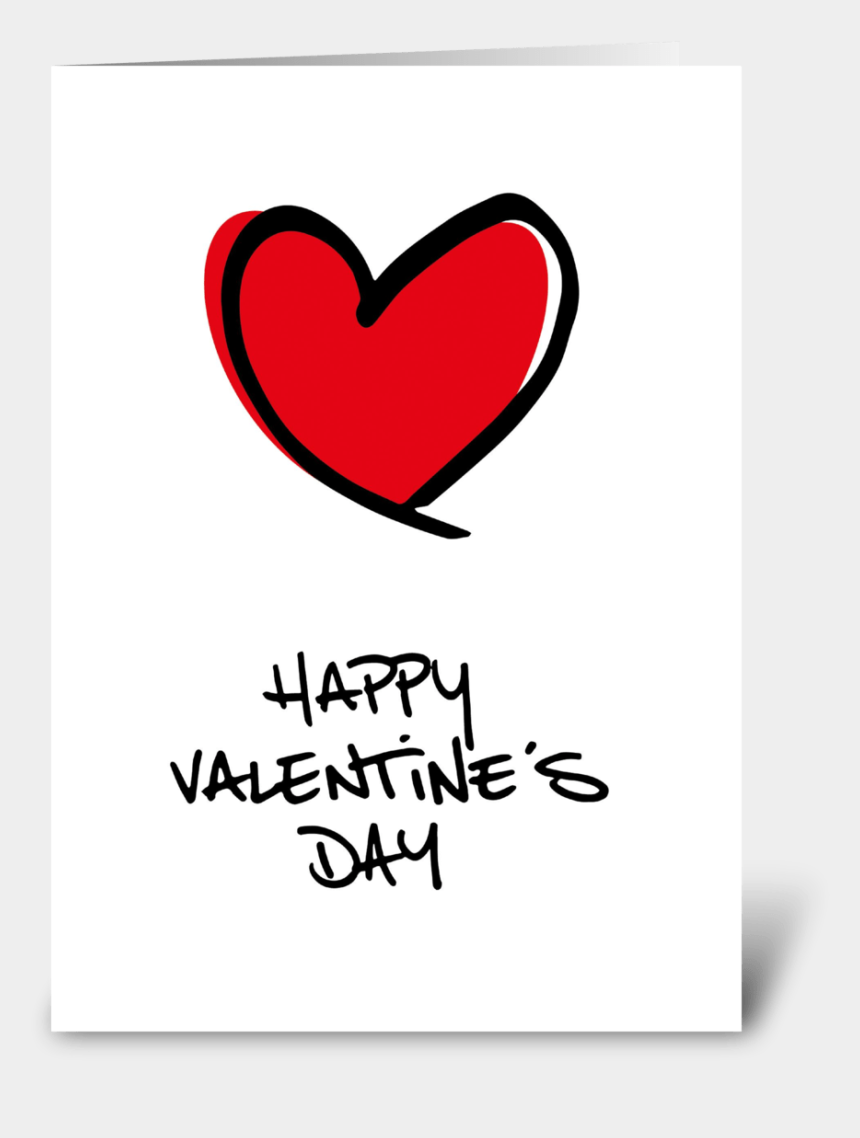 happy valentines day clip art, Cartoons - Big Red Heart Happy Valentine's Day - Heart