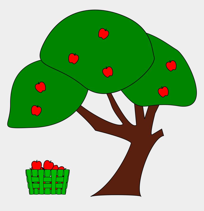 trees clip art, Cartoons - Jpg Freeuse Download Apple Trees Clipart - Apple Tree Clip Art