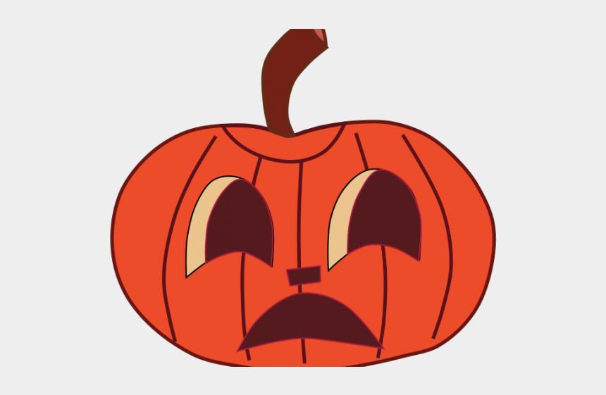 jack o lantern clip art, Cartoons - Jack O Lantern Clipart - Red Pumpkin Cartoon