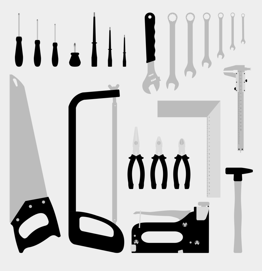 tools clip art, Cartoons - Tools Clipart Hand Tool - Tools Transparent