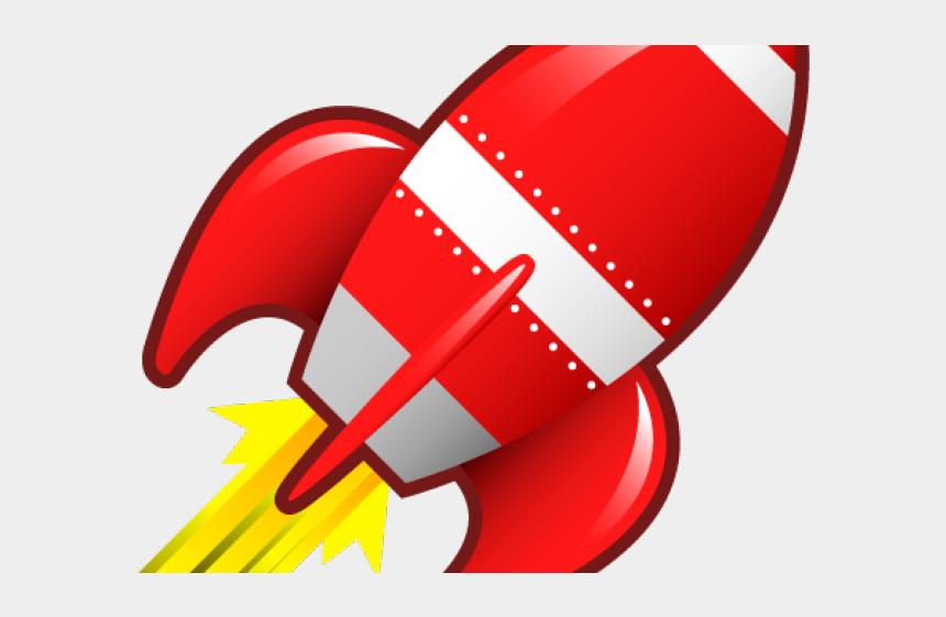 rocket ship clipart, Cartoons - Red Rocket Clipart