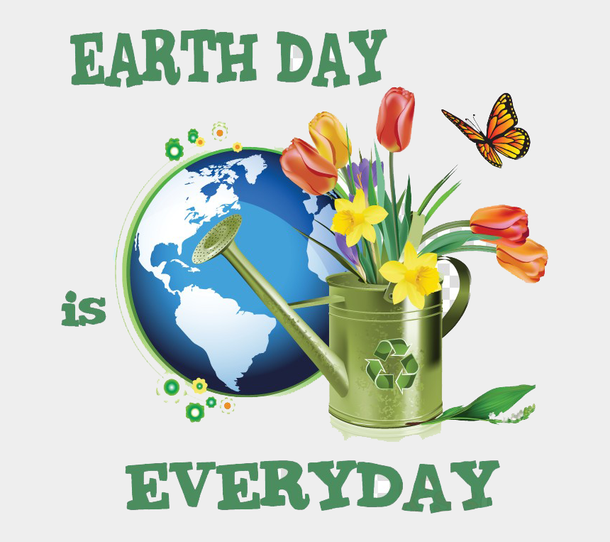 earth day clipart, Cartoons - Slogan On My Mother Earth