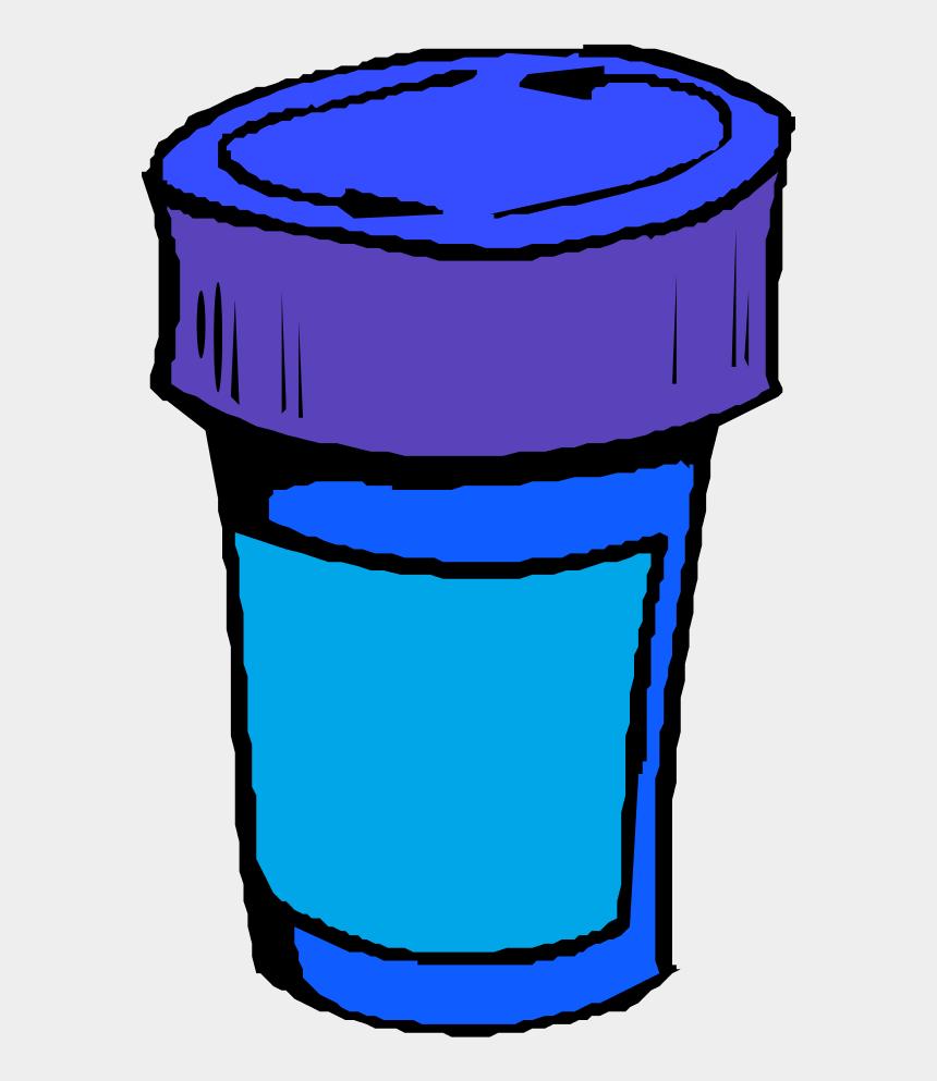 pills clipart, Cartoons - A Bottle For Pills - Pill Bottle Clip Art