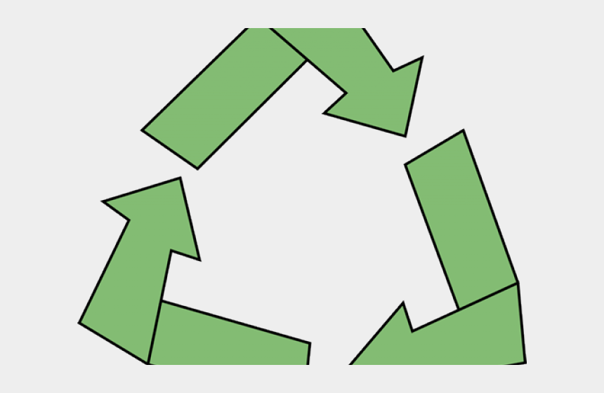 earth day clipart, Cartoons - Recycling Symbol