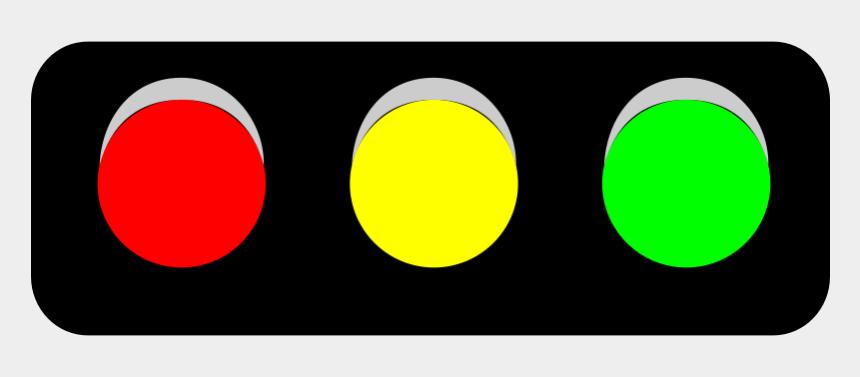 stop clip art, Cartoons - Horizontal Traffic Light Png