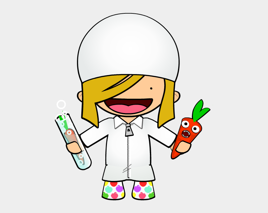 food drive clip art, Cartoons - Chemist Ⓒ - Food Scientist Clip Art