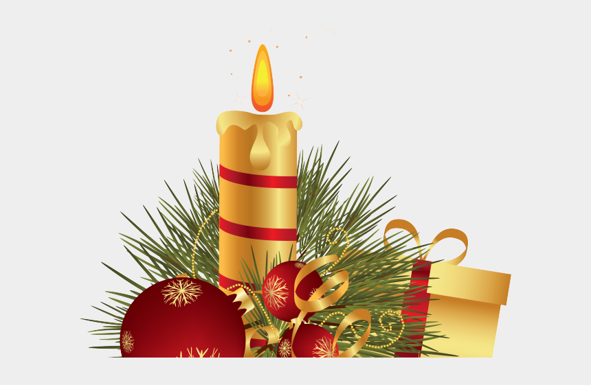 candles clipart, Cartoons - Christmas Candles Clipart - Christmas Candle Png