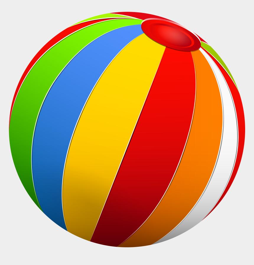 beach ball clip art, Cartoons - Beach Ball Clip Art