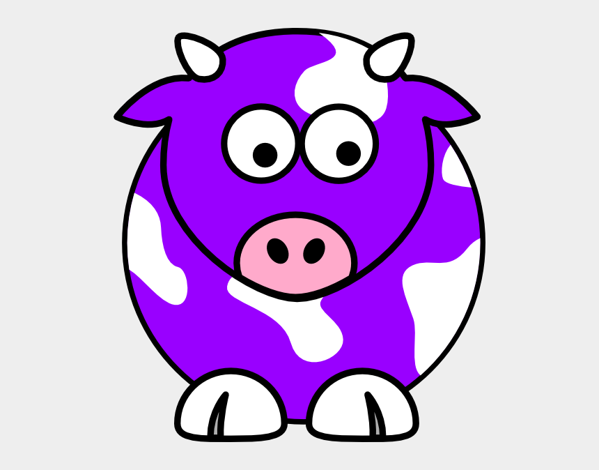cows clipart, Cartoons - Purple Cow Cliparts - Purple Cow Clipart
