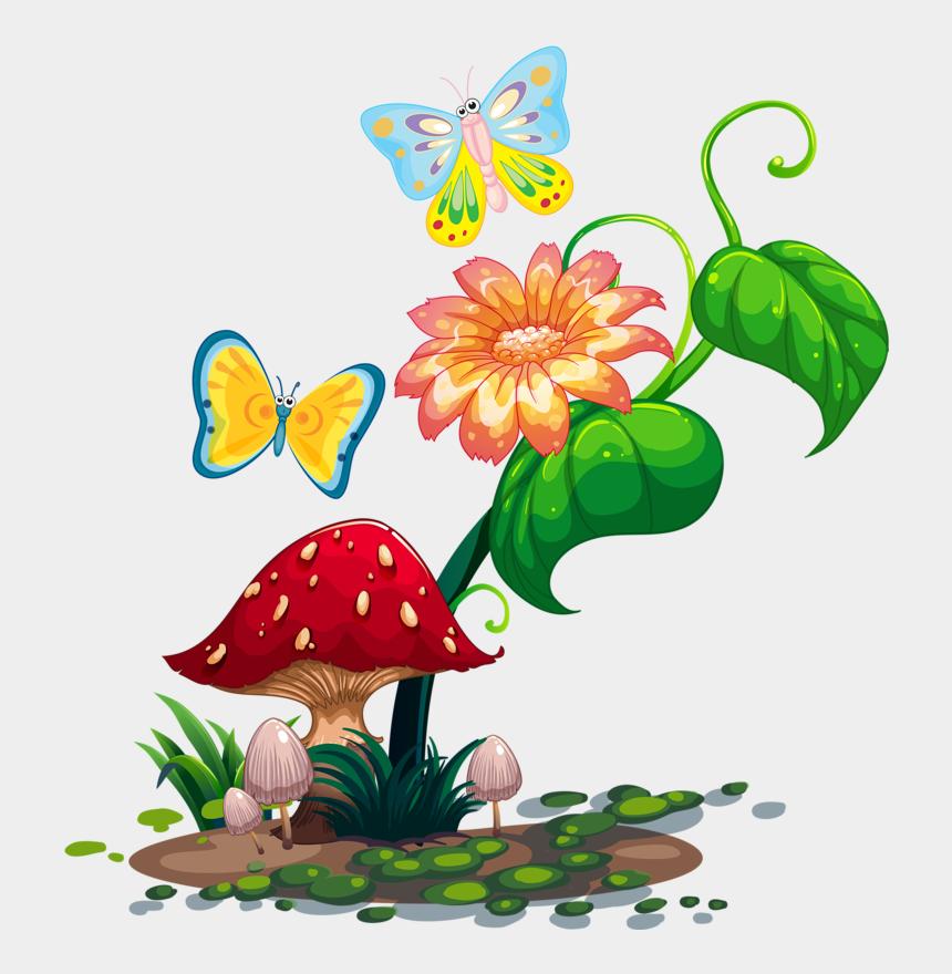 mushroom clip art, Cartoons - Фото, Автор Soloveika На Яндекс - Fairy Garden Clip Art