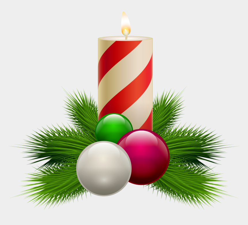 candles clipart, Cartoons - Christmas Candle Clipart - Christmas Clipart Png Transparent