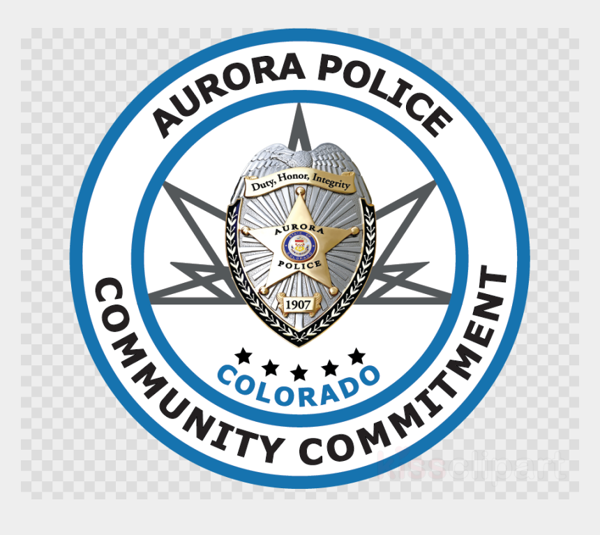 police badge clip art, Cartoons - Aurora Police Badge Clipart Aurora Police Department - Aurora Police Badge