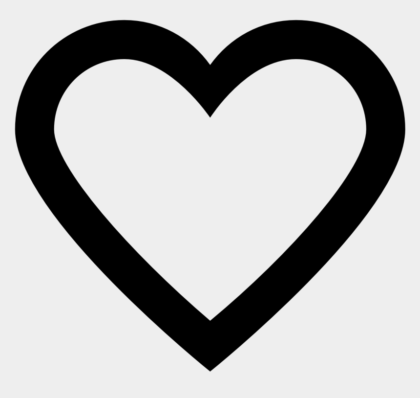 free heart clipart, Cartoons - Black Hearts Clipart - Transparent Background Heart Icon