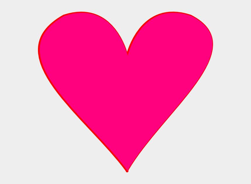 free heart clipart, Cartoons - Light Pink Heart Clipart Clipart Panda Free Clipart - Hot Pink Heart Png