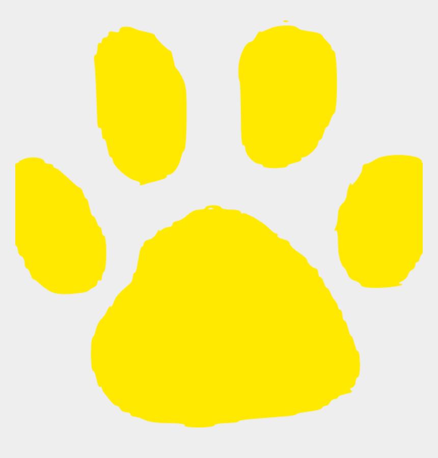 paw prints clip art, Cartoons - Jaguar Paw Print Clip Art - White Paw Print No Background