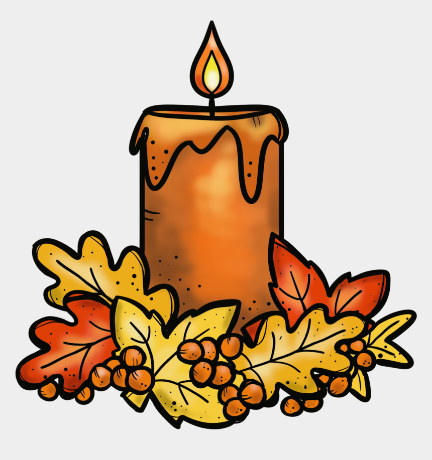 candles clipart, Cartoons - Happiness Is Watermelon Shaped Clipart - Thanksgiving Candle Clipart