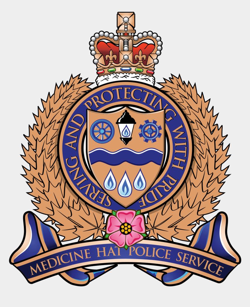 police badge clip art, Cartoons - Medicine Hat Police Service - Medicine Hat Police Service Logo
