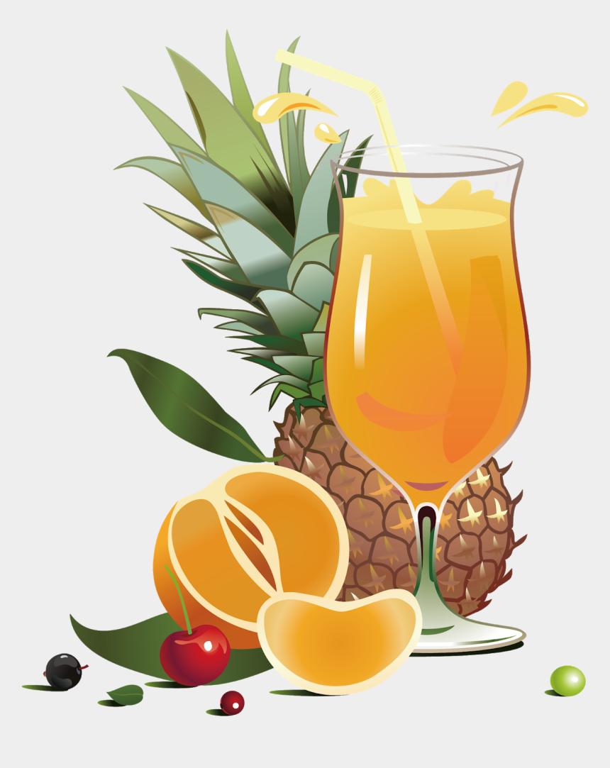 salad clip art, Cartoons - Juice Pineapple Fruit Salad - Real Fruit Juice Advertisement