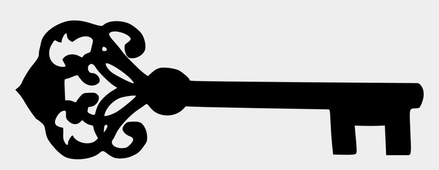 keys clipart, Cartoons - Clipart Key Svg - Clip Art Skeleton Key