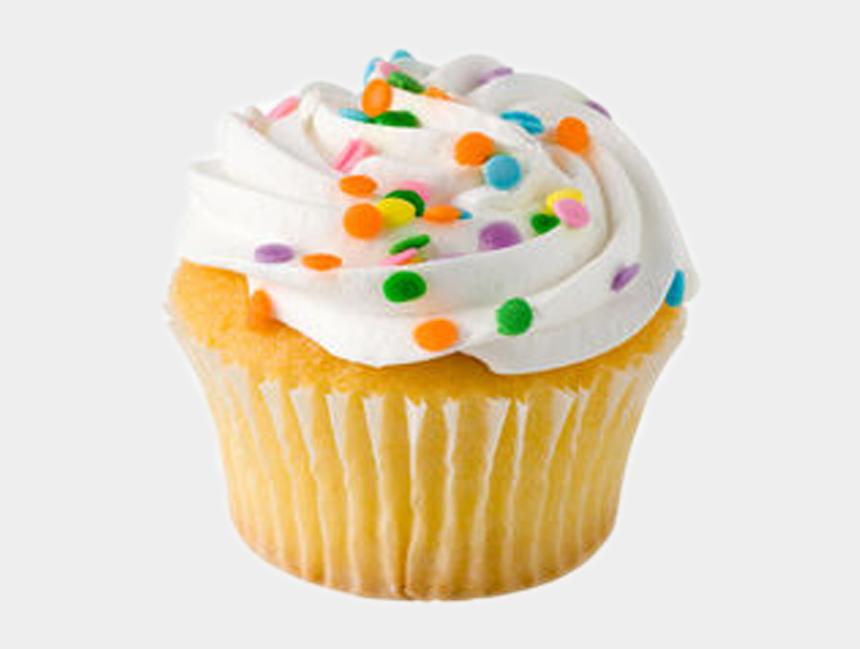 cute cupcake clipart, Cartoons - Store Bought Cupcakes - Vanilla Cup Cake