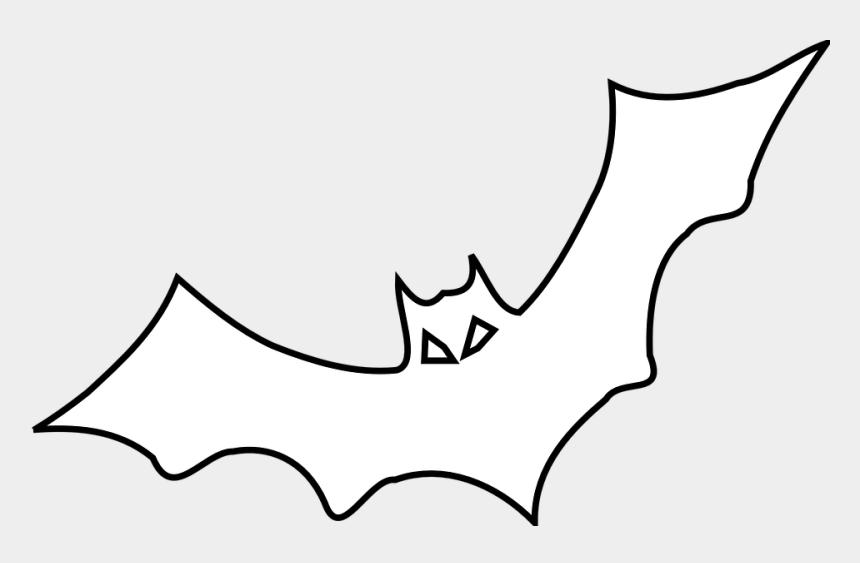 bat clipart outline, Cartoons - Bat, Black, Outline, Bird, Fly - Bat Outline