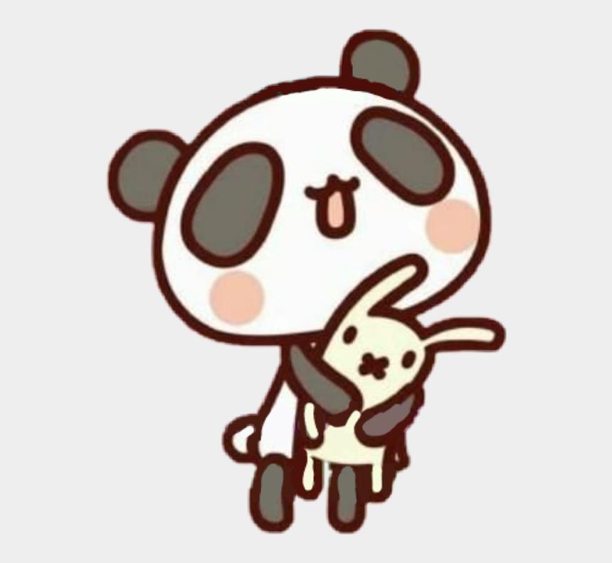 panda bear clipart, Cartoons - #panda #pandabear #bunny #rabittkawaii #plush #cute - Cute Panda Bunny