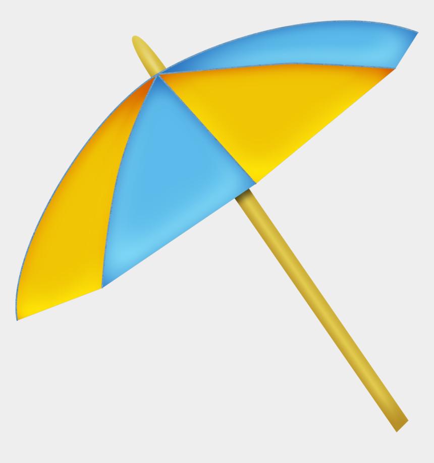beach umbrella clipart, Cartoons - Beach Umbrella Summer Clipart, Beach Umbrella, Kitchen - Sombrilla De Playa Dibujo Png