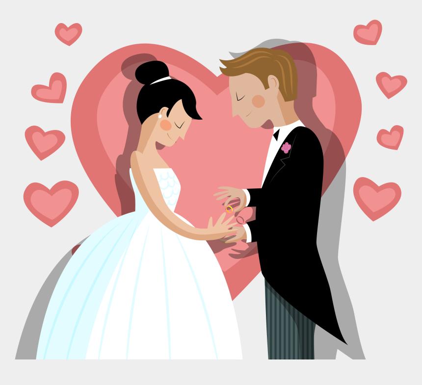marriage card clipart, Cartoons - Invitation Ring Bride Vector Exchange Transprent Png - Imagenes De Bodas Png