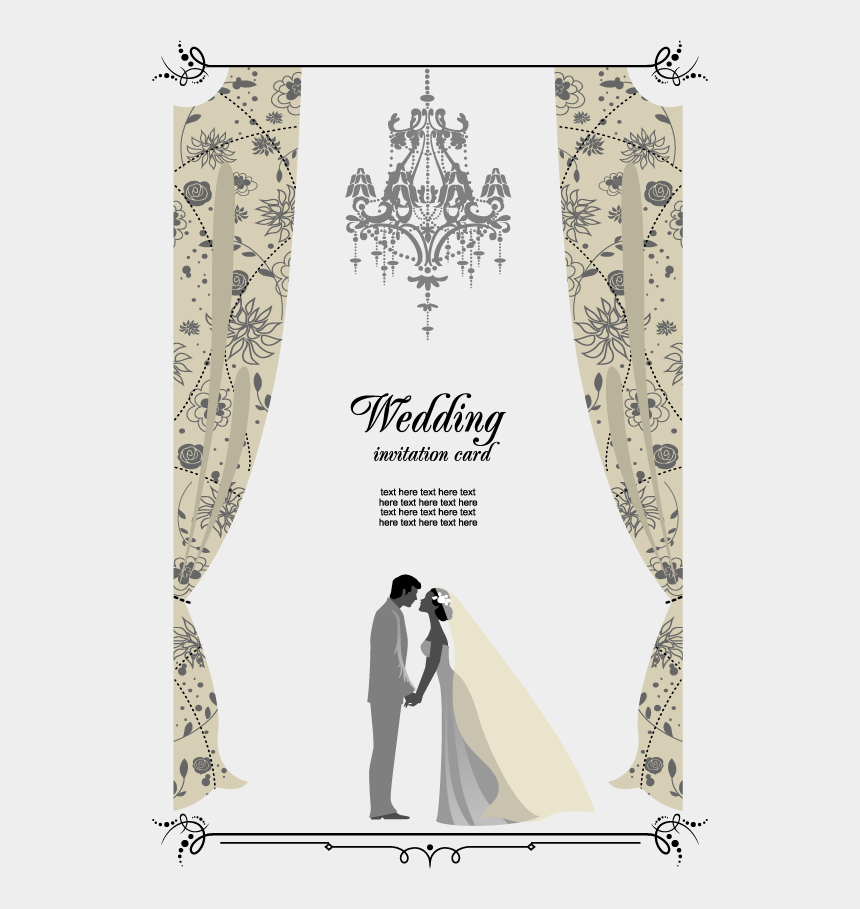 Wedding Banner Png Hd Wedding Invitation Card Cliparts