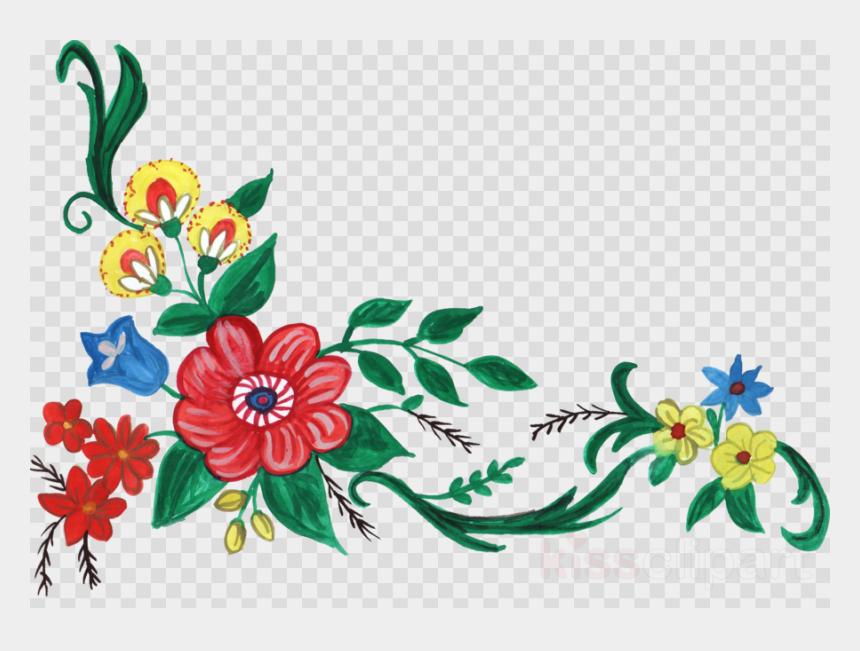 corner clipart, Cartoons - Download Flower Corner Design Png Clipart Floral Design - Corner Flower Design Png