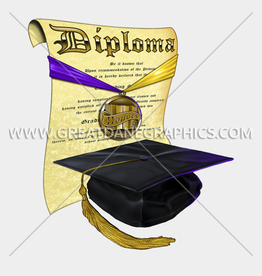 graduation cap and diploma clipart, Cartoons - Diploma Clipart Graphic - Graduation
