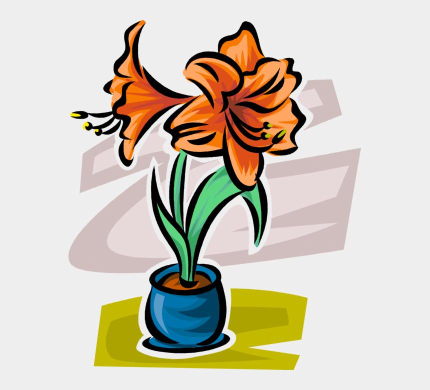 flower garden clipart, Cartoons - Lilly Flower Clip Art - Lily
