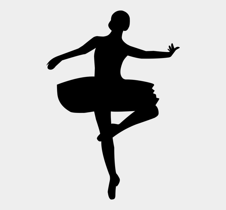 ballet dancer clipart, Cartoons - Ballerina Ballet Dance Dancing Female Girl - Nutcracker And Ballerina Silhouette