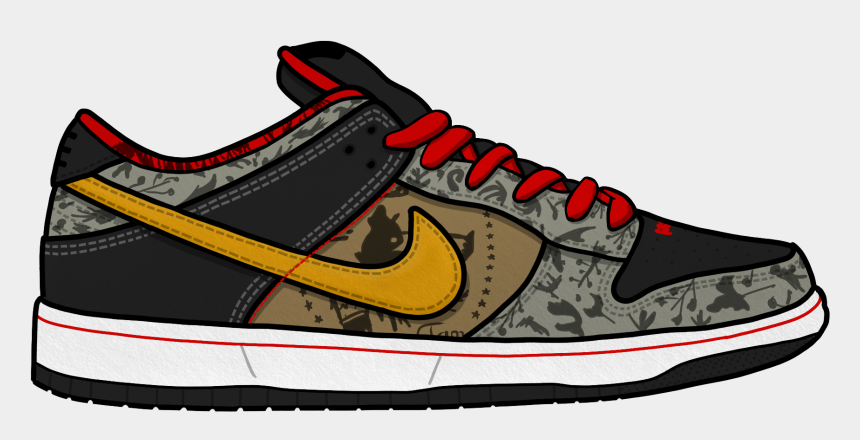 nike shoes clipart, Cartoons - Shoes Nike Png