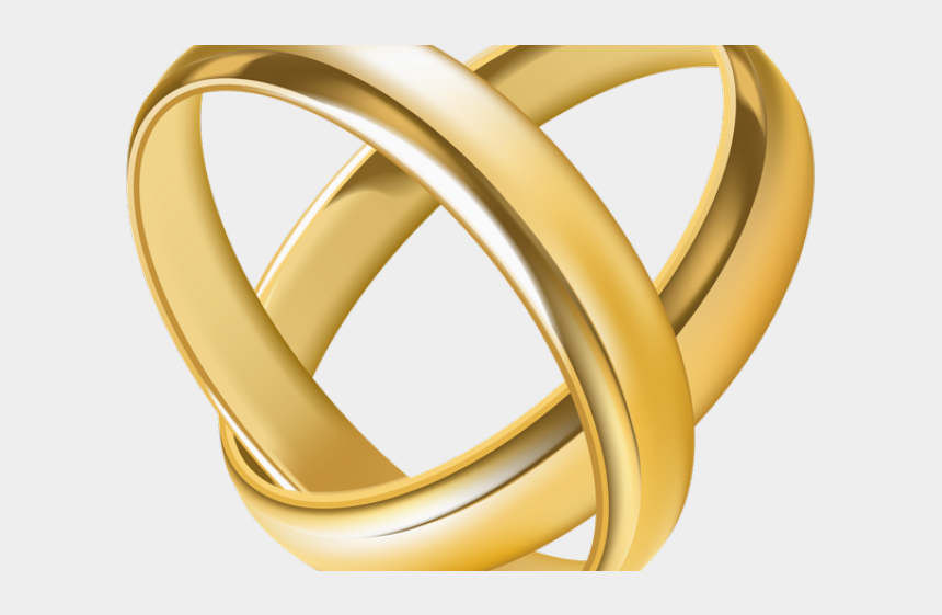 gold ring clipart, Cartoons - Lord Of The Rings Clipart Heart - Gold Wedding Ring Png