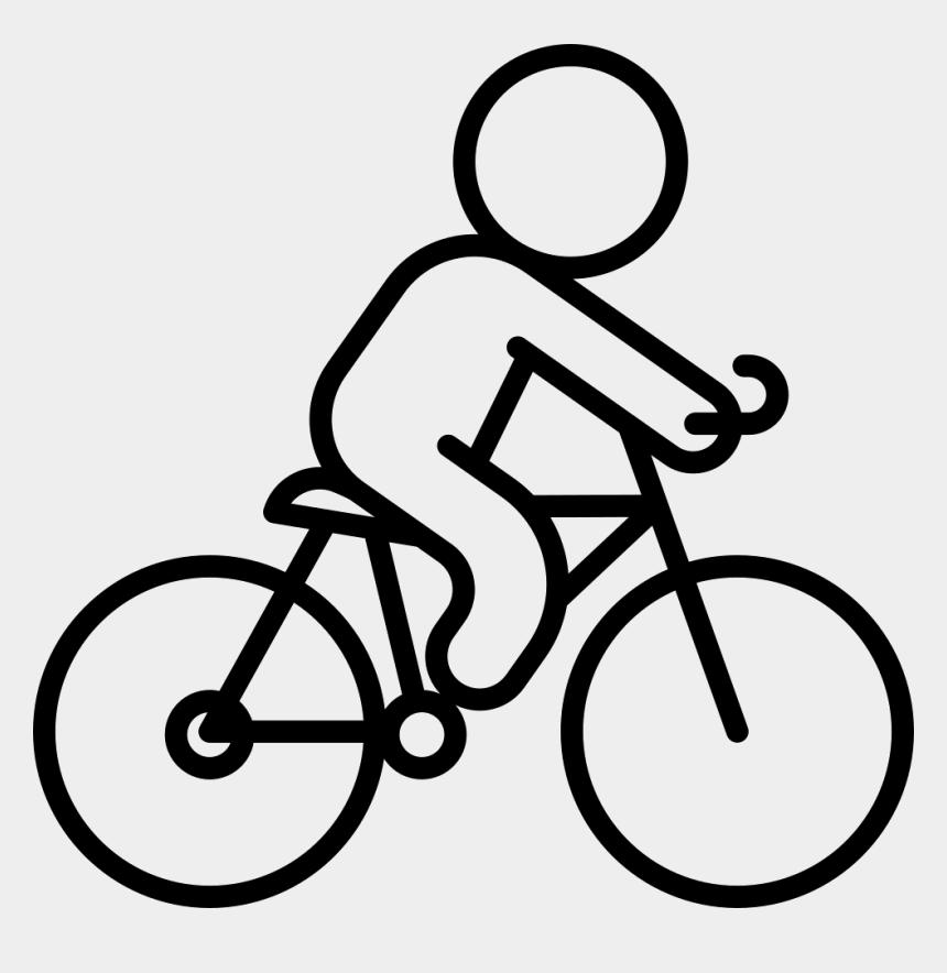 road bike clipart, Cartoons - Gmc Denali 700c Road Bike - Bicycle Outline