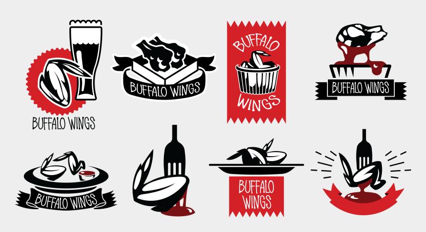 roast chicken clipart, Cartoons - Buffalo Wing Barbecue Logo Hot Barbacoa Bbq Ⓒ - Chicken Wing Bbq Logo