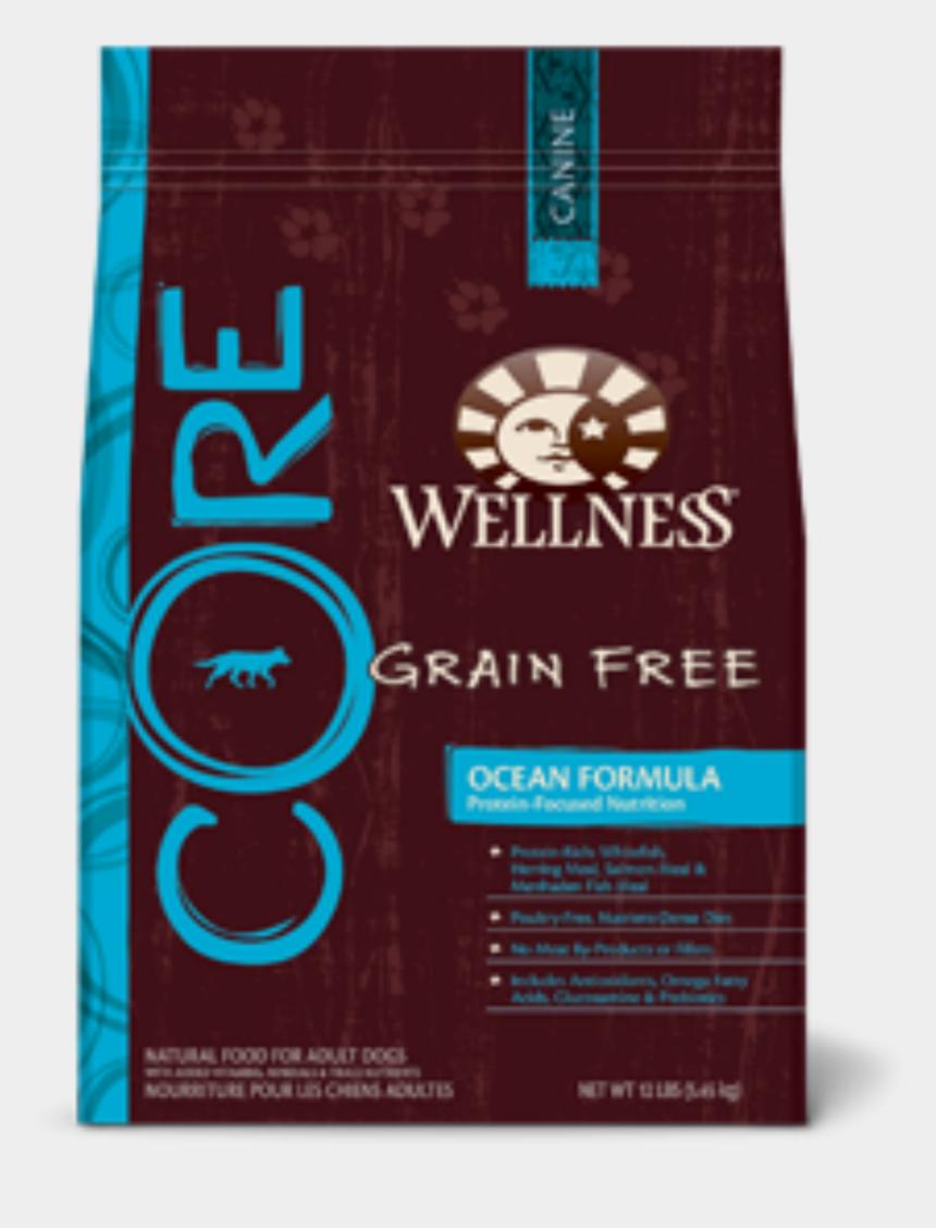dog food clipart, Cartoons - Wellness Core Grain Free Dog Food Png - Wellness Dog Food