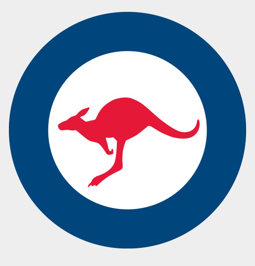 aboriginal clipart, Cartoons - Kangaroo Clipart Aboriginal Kangaroo - Royal Australian Air Force Roundel