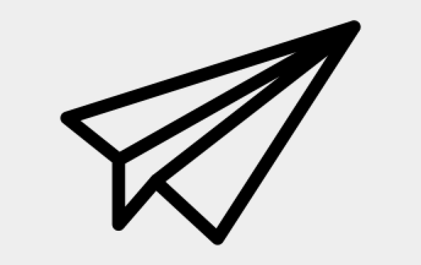 paper plane clipart, Cartoons - Aircraft Clipart Paper Airplane - Paper Plane Icon Png