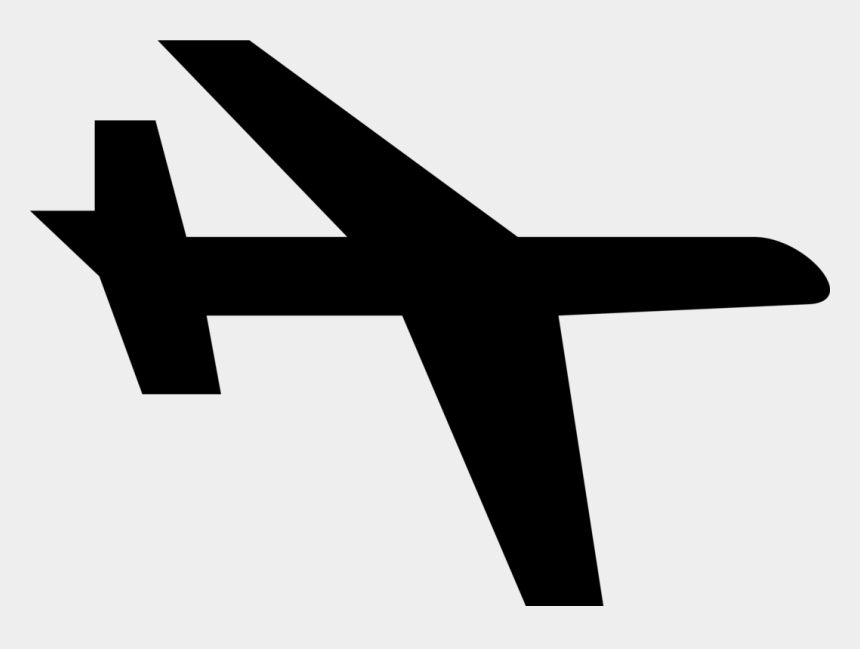 airplane clipart black and white, Cartoons - Simple Airplane Clipart - Simple Clip Art Airplane