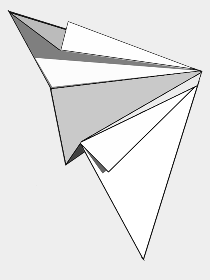 paper plane clipart, Cartoons - A Svg Of This Paper Plane Is Available On Pixabay - Triangle