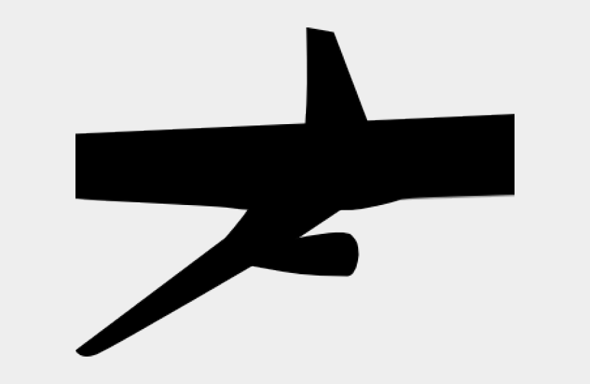 airplane clipart black and white, Cartoons - Narrow-body Aircraft